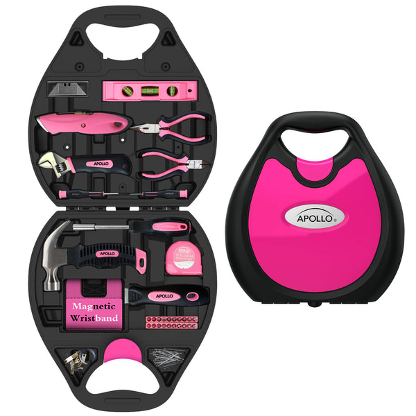 72 Piece Household Tool Kit - Thepinkstore.com - 1