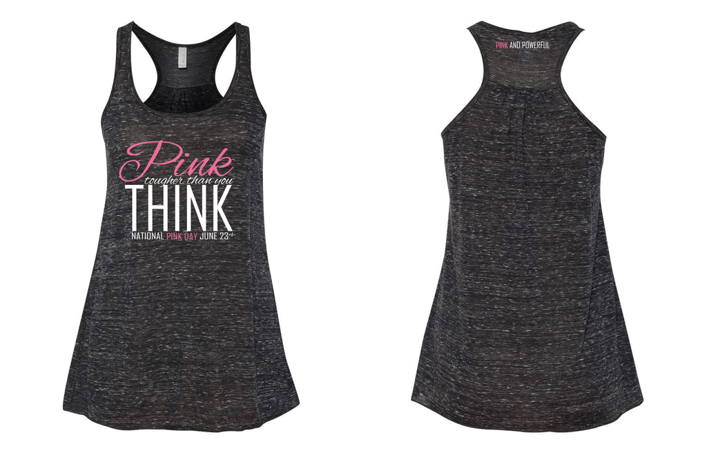 National Pink Day Flowy Tank Top - Thepinkstore.com - 3