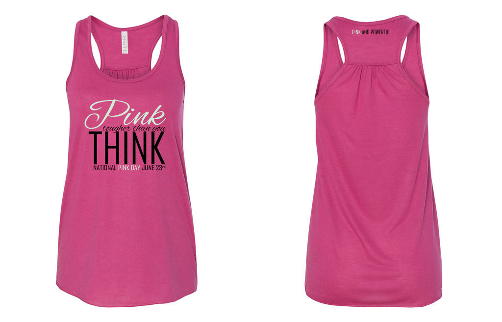National Pink Day Flowy Tank Top - Thepinkstore.com - 1