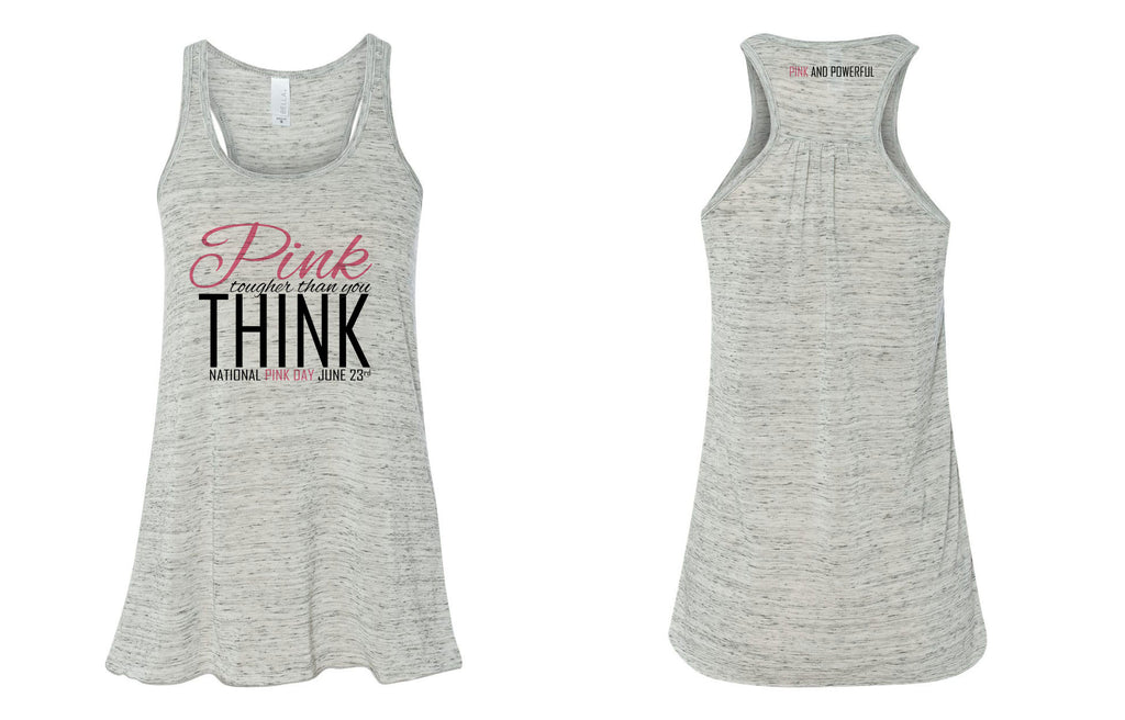 National Pink Day Flowy Tank Top - Thepinkstore.com - 2