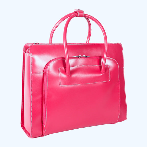 Lake Forest Briefcase in Fuchsia