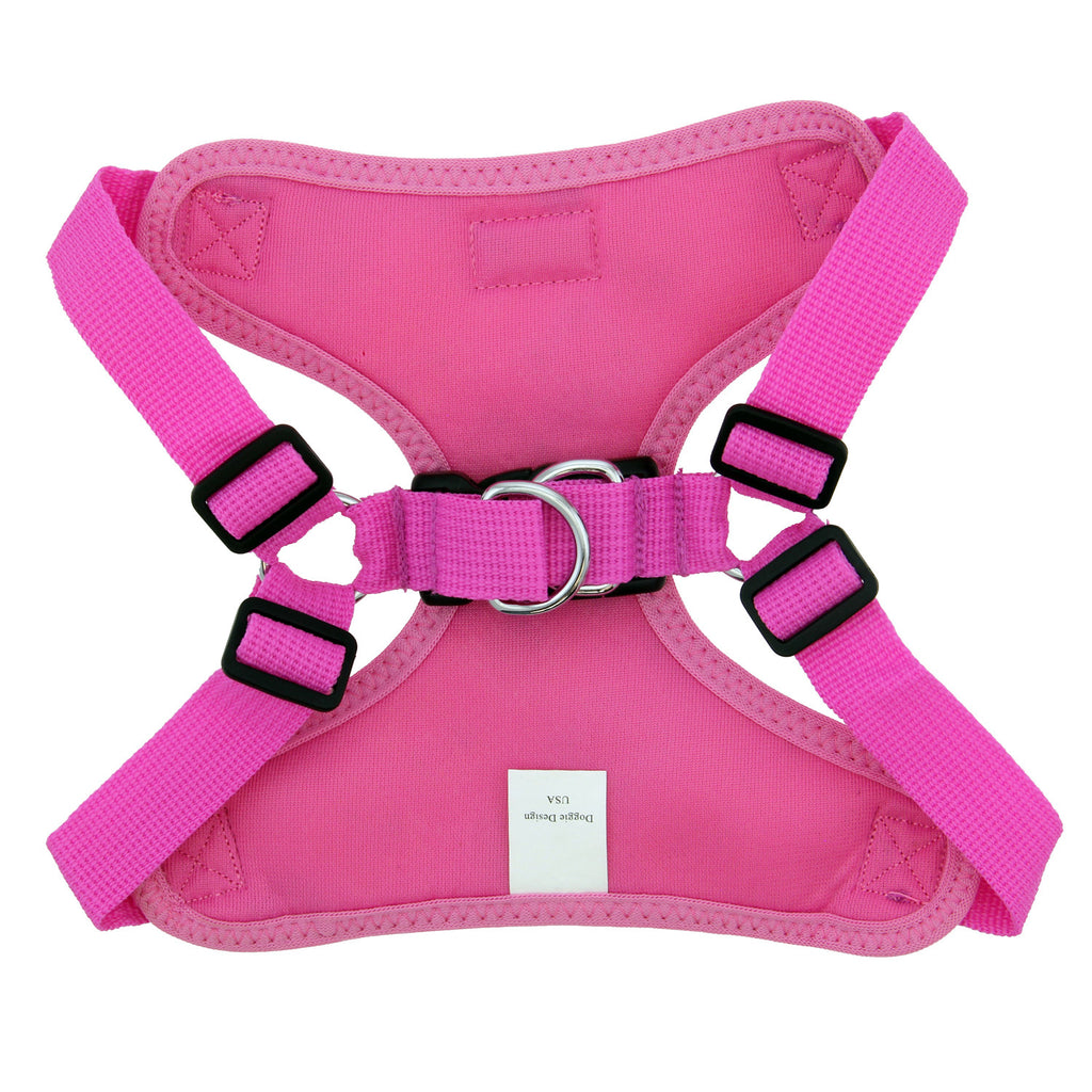 Wrap & Snap Choke Free Dog Harness in Aruba Raspberry - Thepinkstore.com - 3