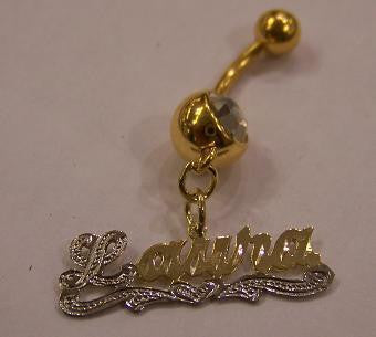 Personalized Belly Ring