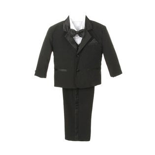 Baby Boy Black Bow tie Tuxedo suit Christening Baptism wedding size S/M/L/XL/2T/3T/4T/#BOW1 - myfamilystore