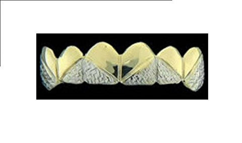 14k gold overlay removable Gold Teeth Grillz Griils caps including the mold kit and shipping 6 teeth /m10 - myfamilystore
