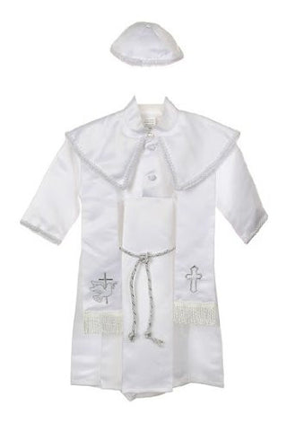 Baby Boy toddler Christening Baptism white outfit with rope /XS/S/M/L/XL/0-3M/3-6M/6-12M/12-18M/18-24M/XSMALL/SMALL/MEDIUM/LARGE/X LARGE/a7 - myfamilystore