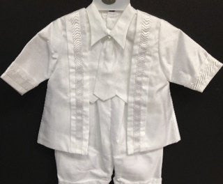 Baby Boy toddler Christening Baptism white outfit with hat /XS/S/M/L/XL/0-3M/3-6M/6-12M/12-18M/18-24M/XSMALL/SMALL/MEDIUM/LARGE/X LARGE/c1 - myfamilystore