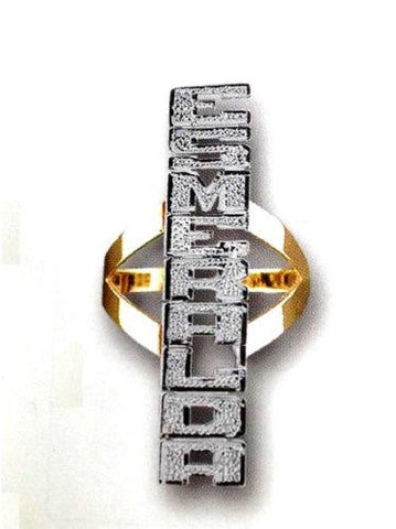 Name Ring Personalized Jewelry Rings /up Down - myfamilystore