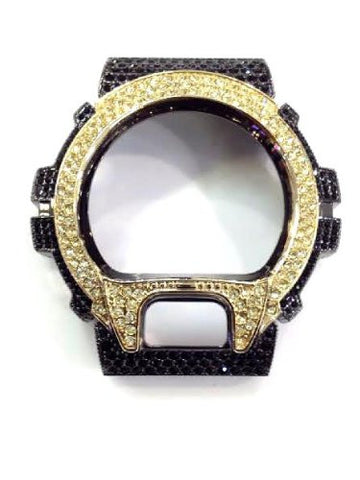 Casio G-shock Dw-6900 Watch Bezel Case Cover 300 Stone Cz/a1 - myfamilystore