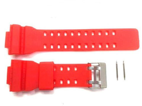 Casio red Rubber Band for G-shock/ga110/ga100/ Gd100/ga120 - myfamilystore