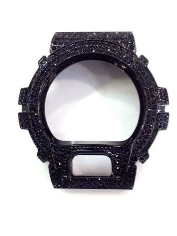 Casio G-shock Dw-6900 Watch Bezel Case Cover 300 Stone Cz/a5 - myfamilystore