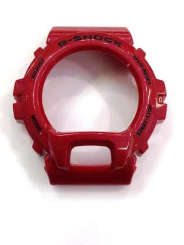 Casio G-shock Dw-6900 Watch Bezel Rubber Case Cover /Metalic Red/a5 - myfamilystore