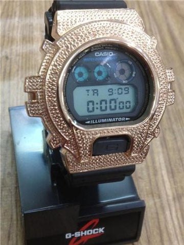new Casio G-shock G SHOCK diamond watch /.12 CT/DW6900 /GA120 LIMIT/rose color - myfamilystore
