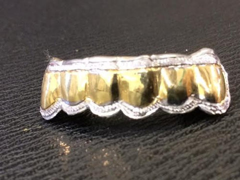 gold removable gold teeth caps including the mold kit and shipping 6 teeth /#f10k - myfamilystore