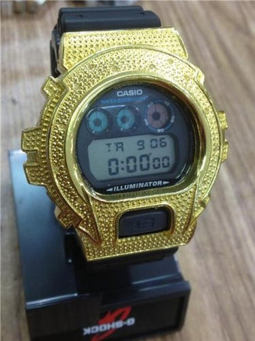 NEW Casio G SHOCK G-SHOCK DIAMOND .12 ct / GD100GB-1 GOLD Watch limited adition/ - myfamilystore