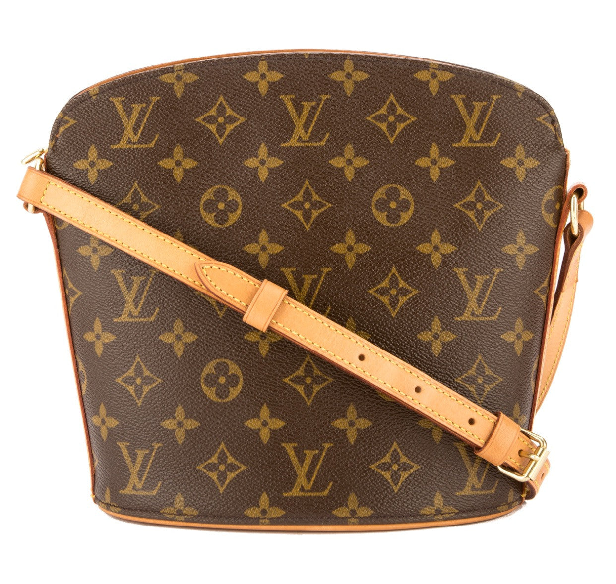 LOUIS VUITTON Drouot Monogram Crossbody Bag