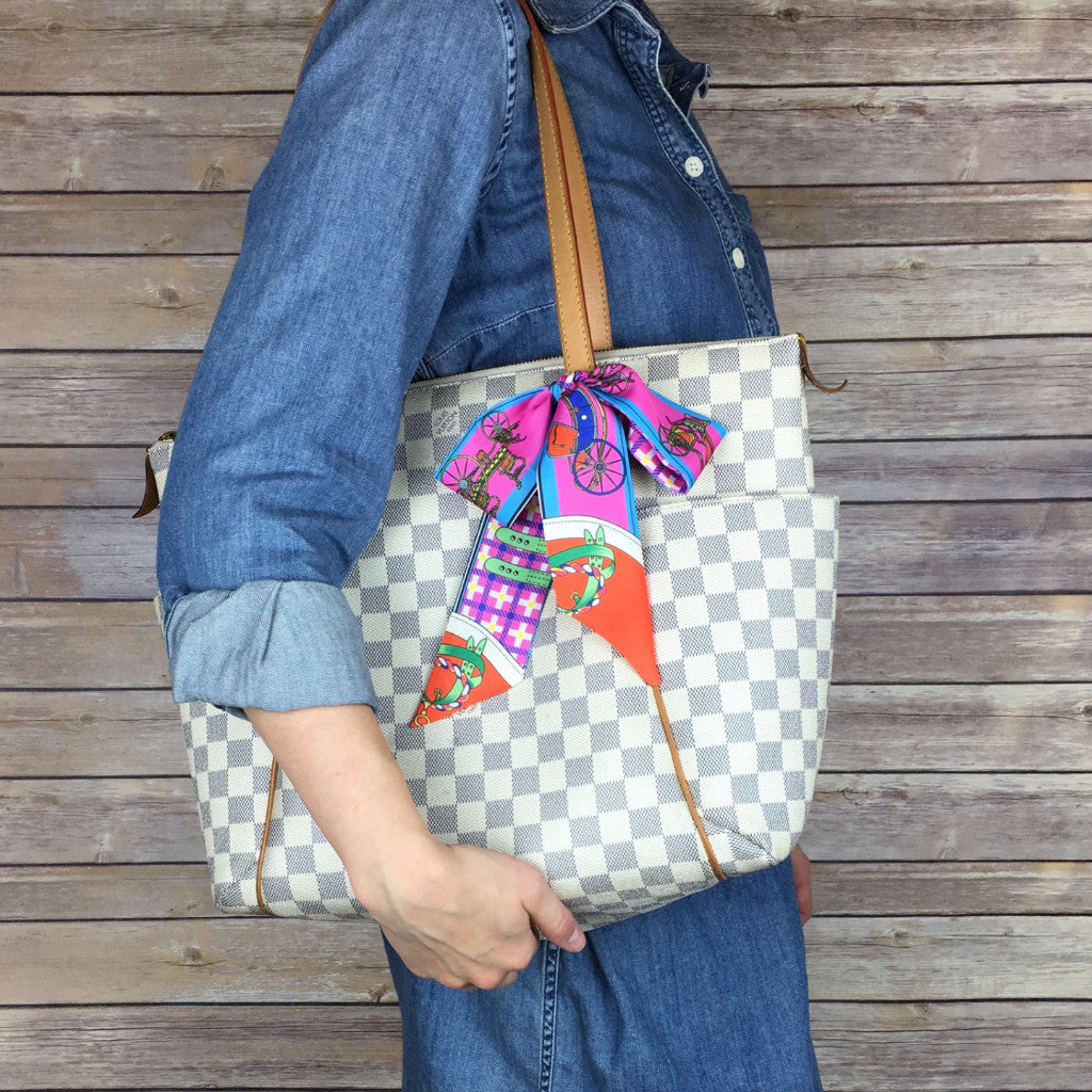 Louis Vuitton Damier Azur Totally MM Tote