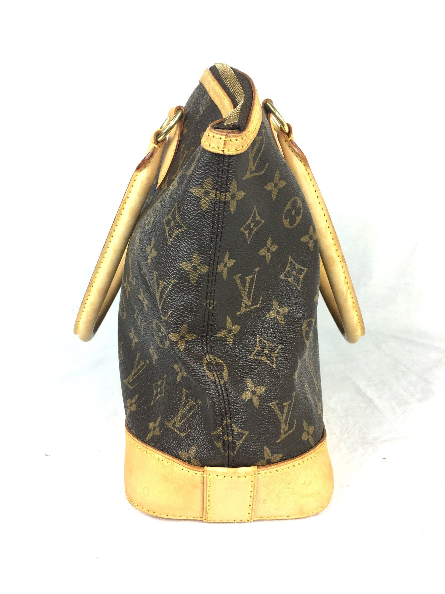 LOUIS VUITTON Monogram Lockit Horizontal Bag