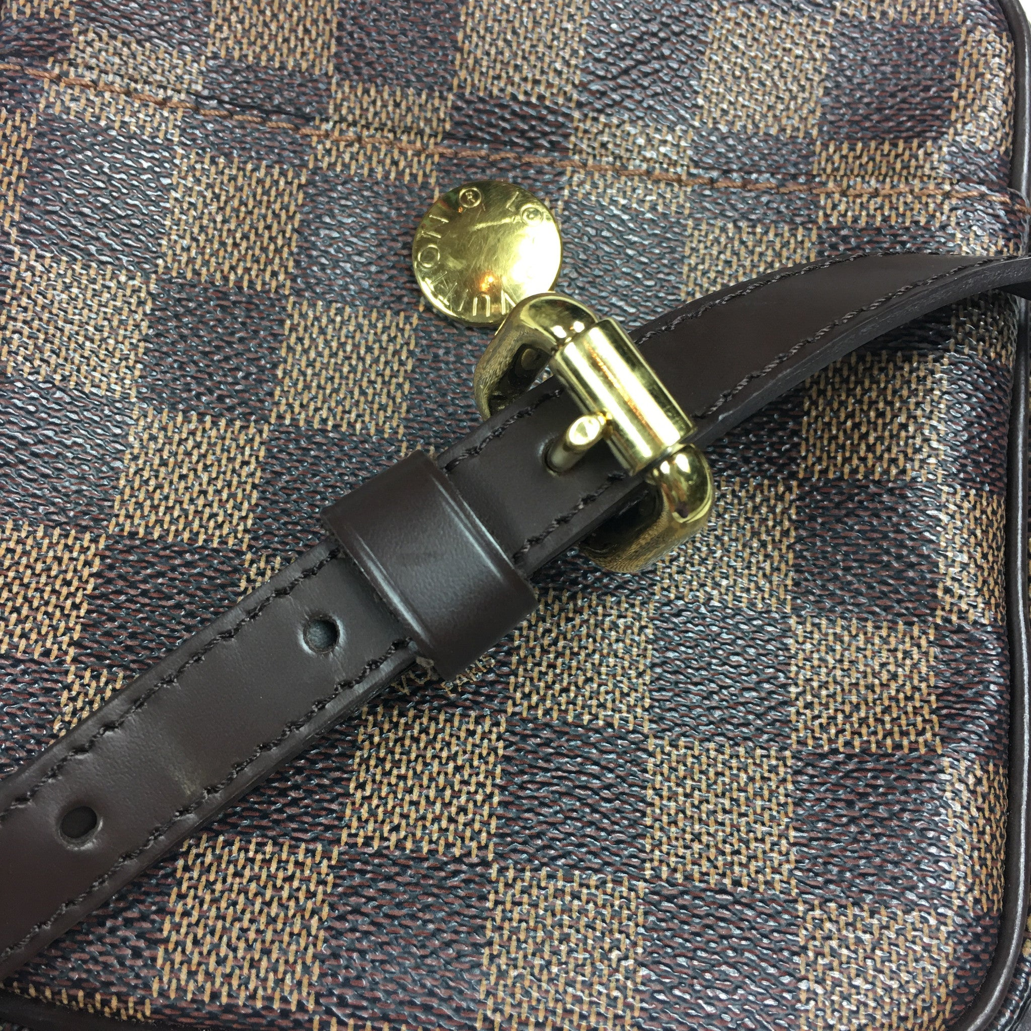 LOUIS VUITTON Damier Ebene Rift Crossbody