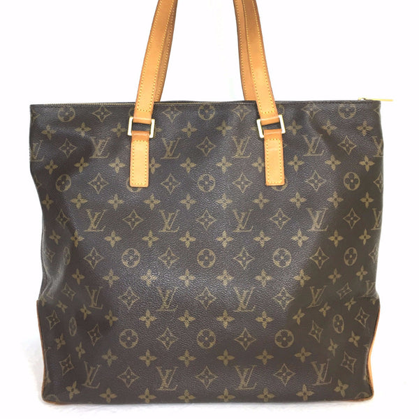 b212389d0a0 LOUIS VUITTON Monogram Canvas Cabas Mezzo Bag