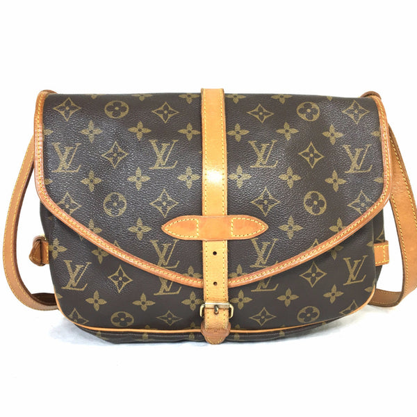 d29348ea0066 LOUIS VUITTON Monogram Saumur 30 Crossbody Bag
