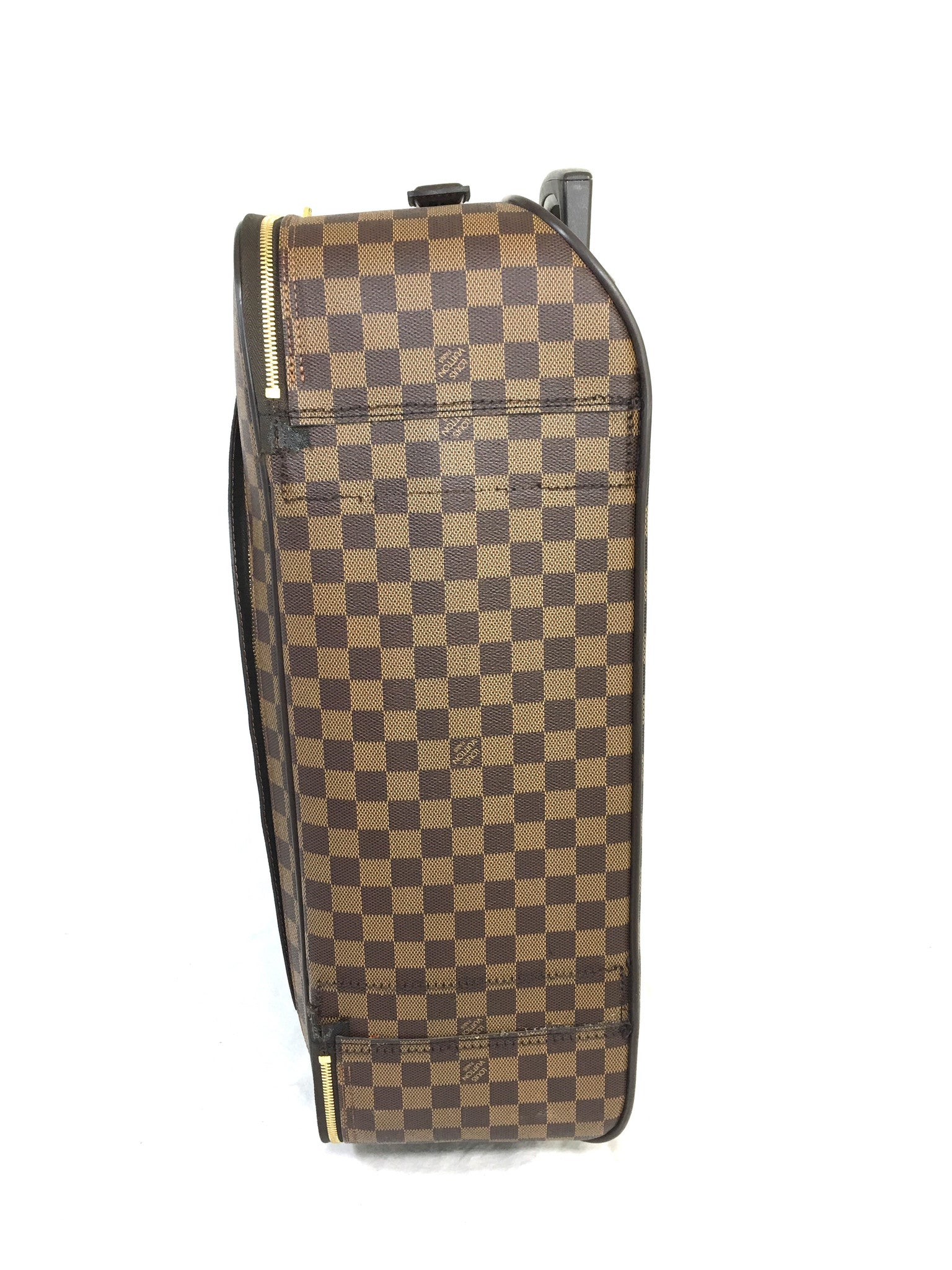 LOUIS VUITTON Damier Ebene Pegase 55 Suitcase Roller Luggage