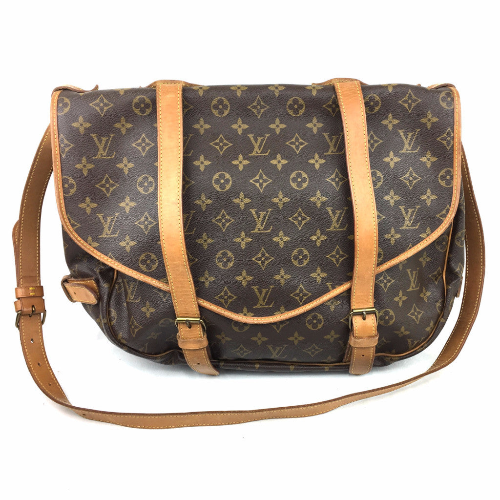 LOUIS VUITTON Saumur 43 Crossbody Bag
