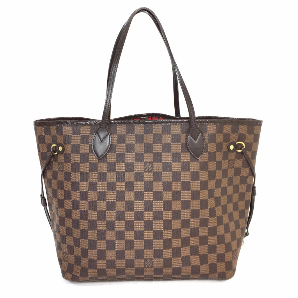 23be51978c5a LOUIS VUITTON Damier Ebene Neverfull MM – Pretty Things Hoarder
