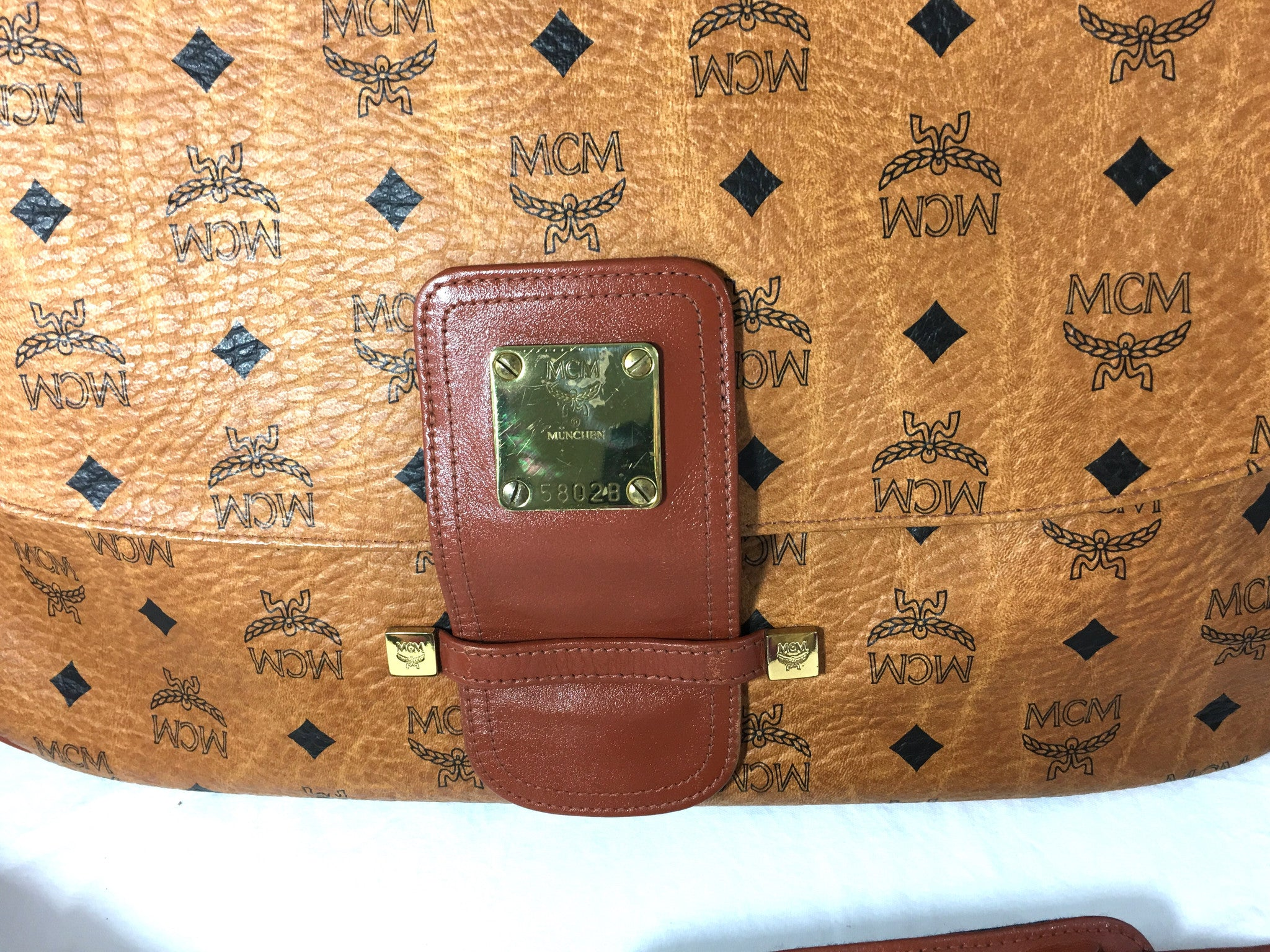 MCM Messenger Crossbody Bag