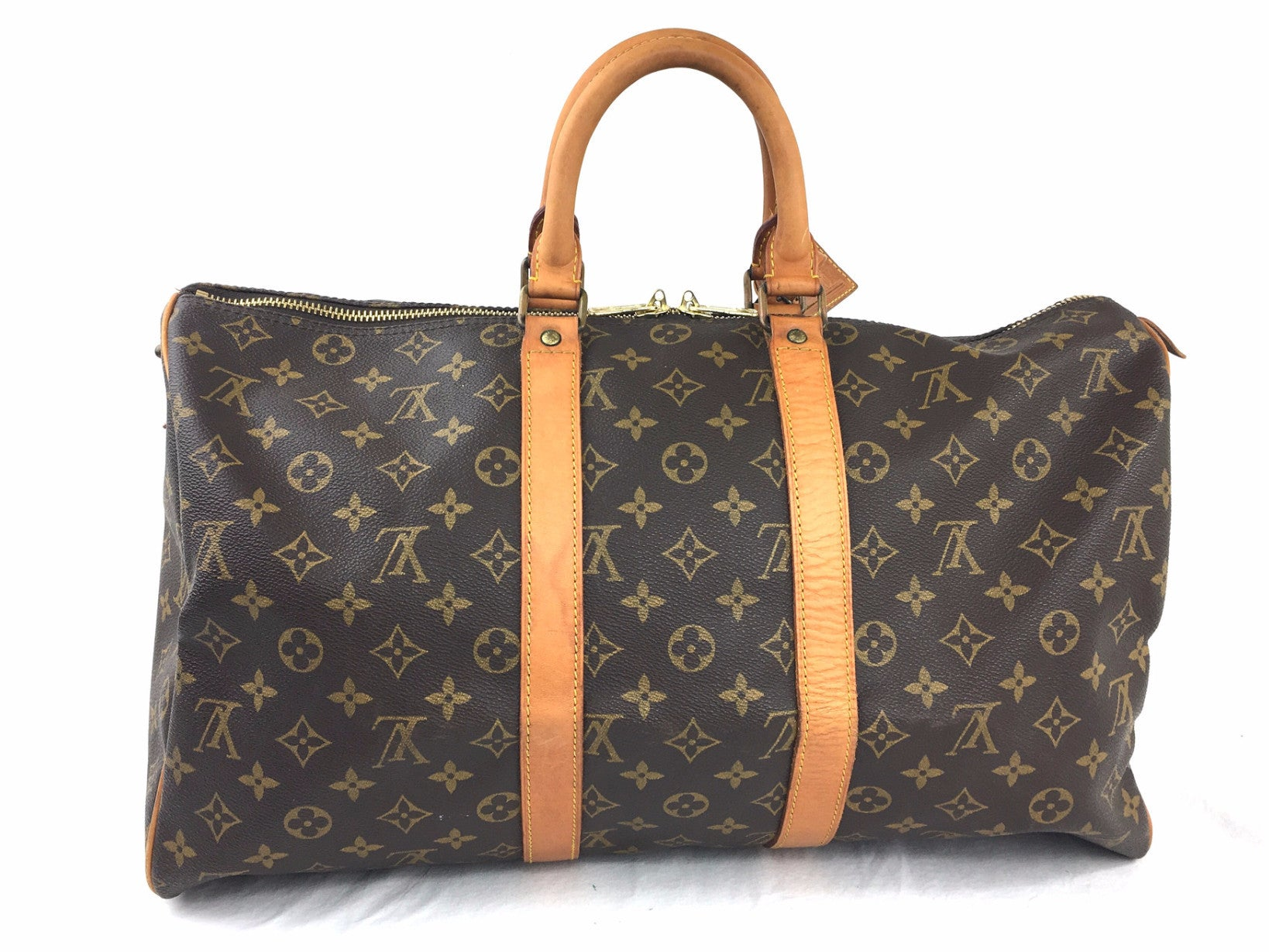 LOUIS VUITTON Monogram Keepall 45 Duffel