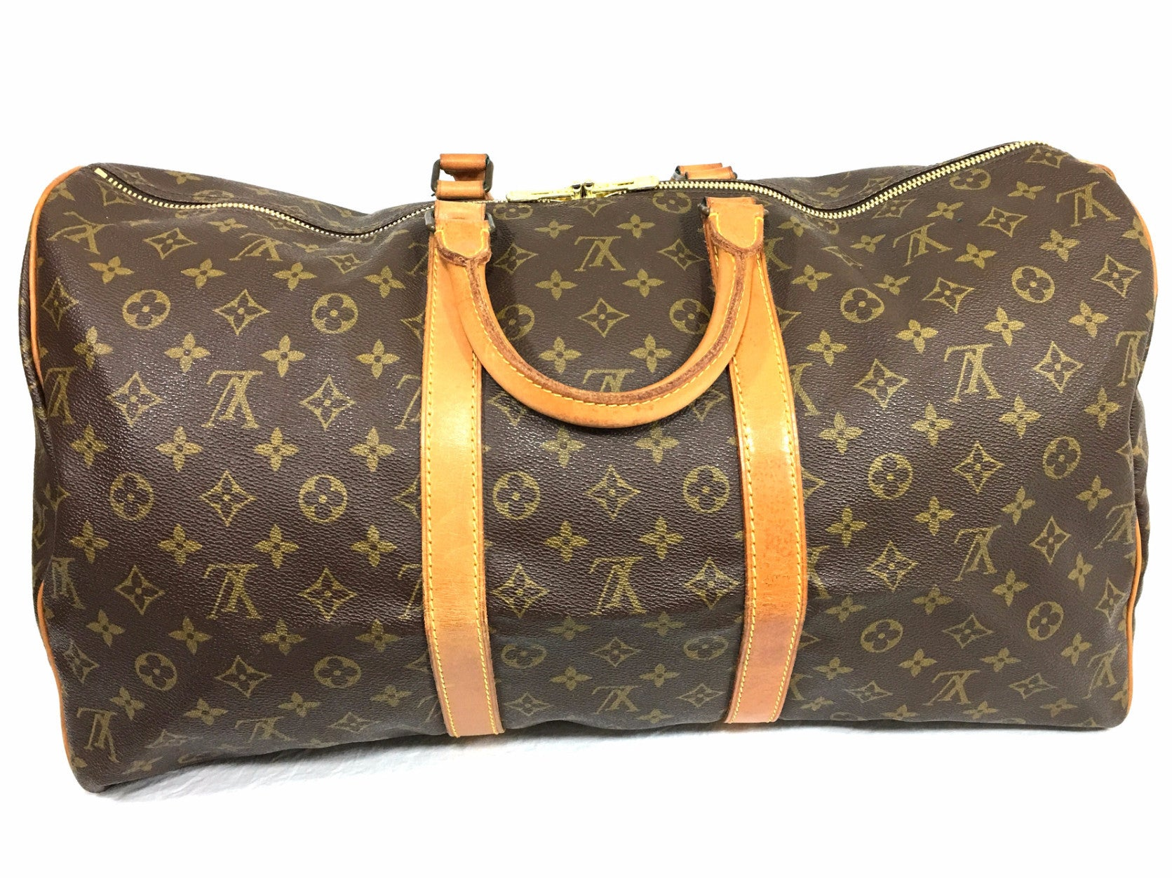 LOUIS VUITTON Keepall 50 Duffel Bag