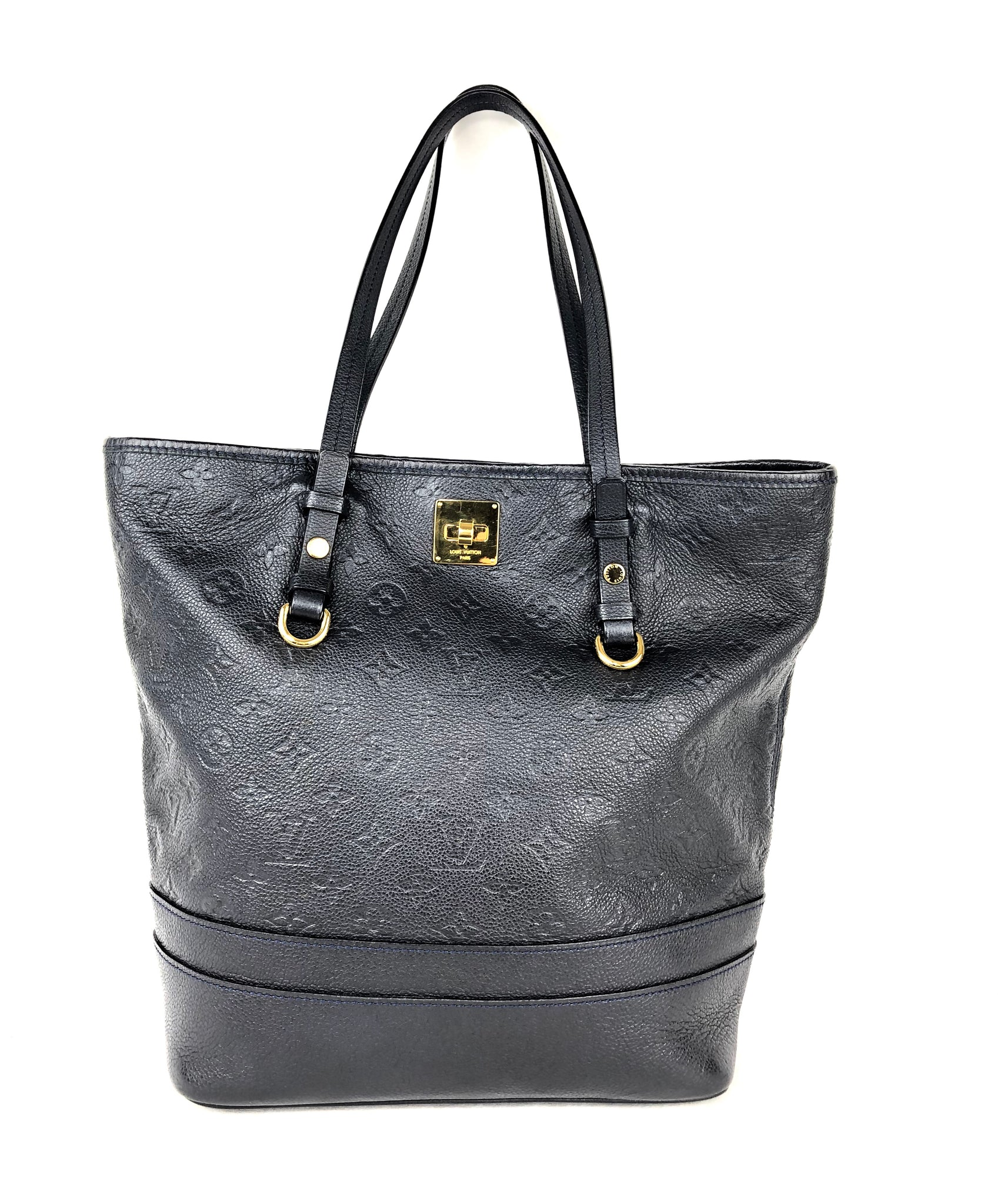 LOUIS VUITTON Empreinte Citadine PM Infini Shoulder Bag (Deep Navy)