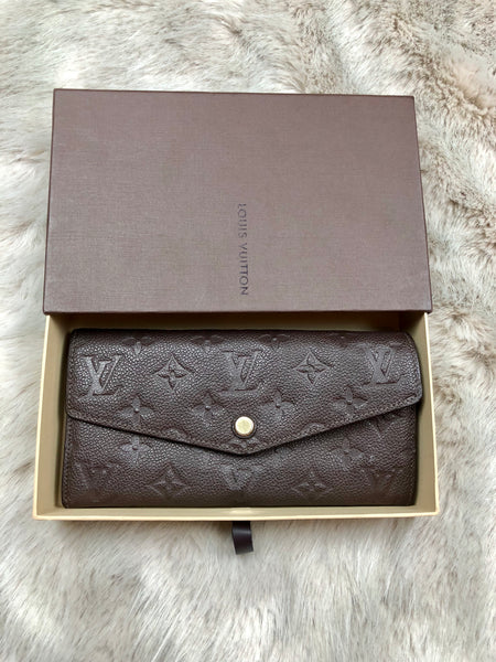 LOUIS VUITTON Monogram Empreinte Curieuse Wallet