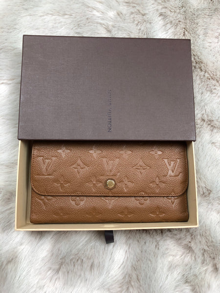 LOUIS VUITTON Monogram Empreinte Tri-fold Wallet