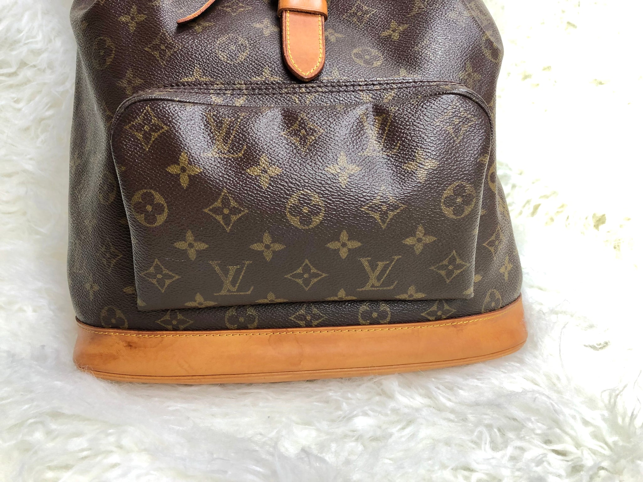 LOUIS VUITTON Monogram Montsouris GM Backpack