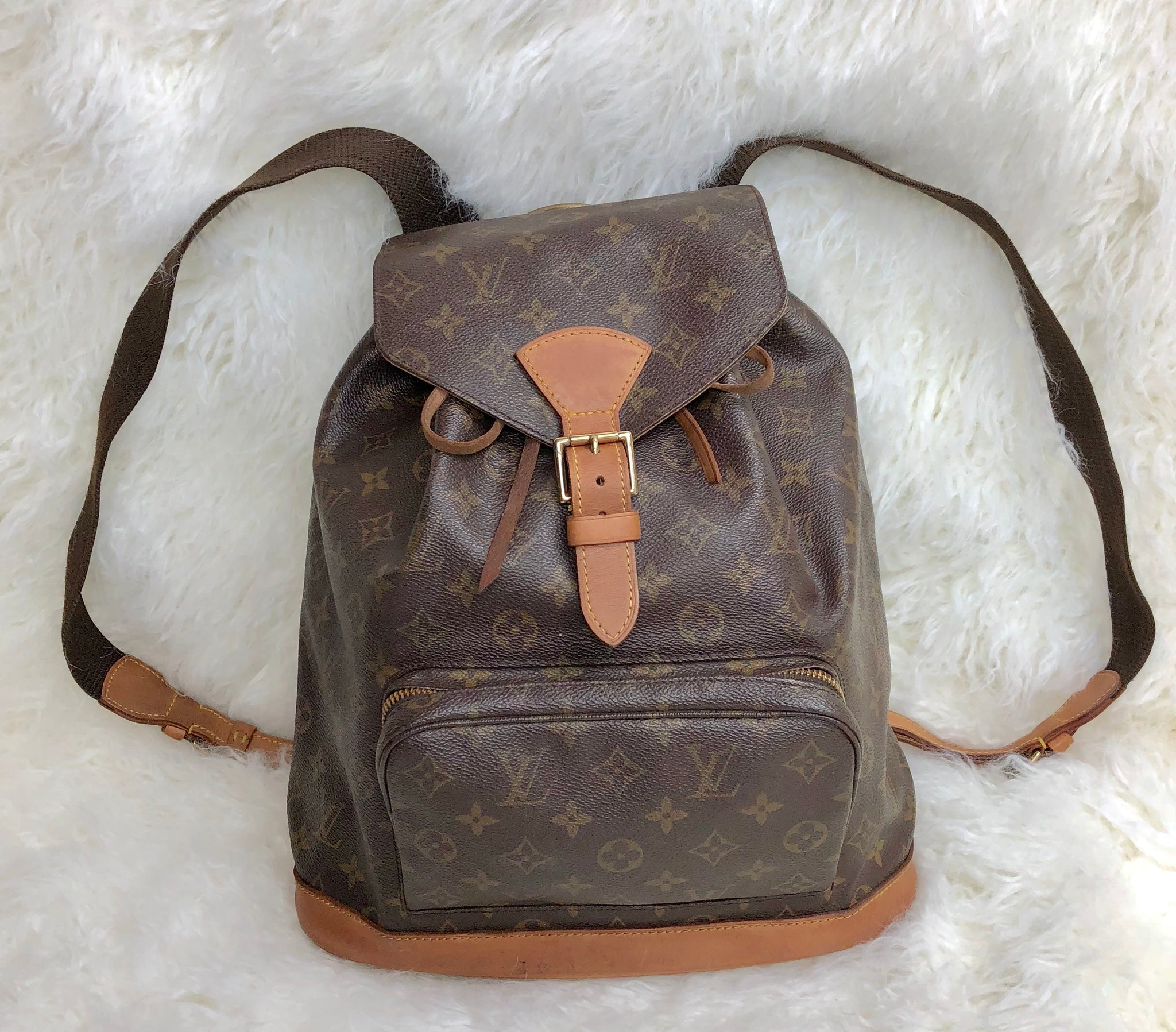 2e9fdf29bd49 LOUIS VUITTON Montsouris GM Backpack – Pretty Things Hoarder