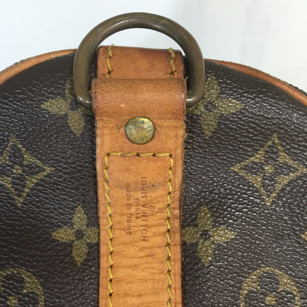 LOUIS VUITTON Monogram Keepall 60 Bandouliere Boston Bag