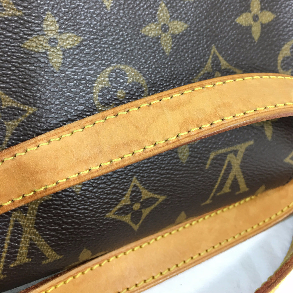 LOUIS VUITTON Monogram Tambourine Crossbody Shoulder Bag