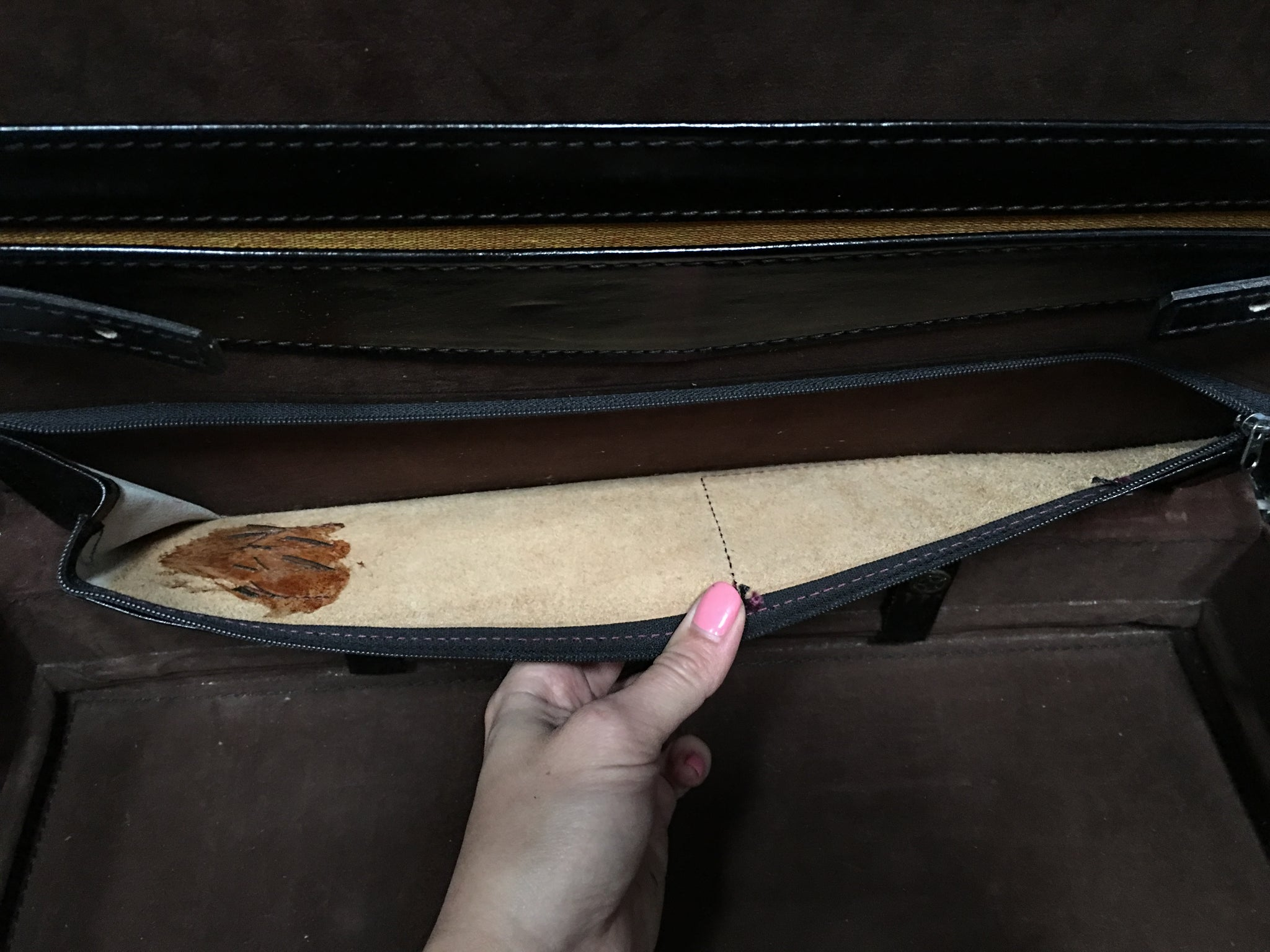 GUCCI Vintage Hard Documents Briefcase