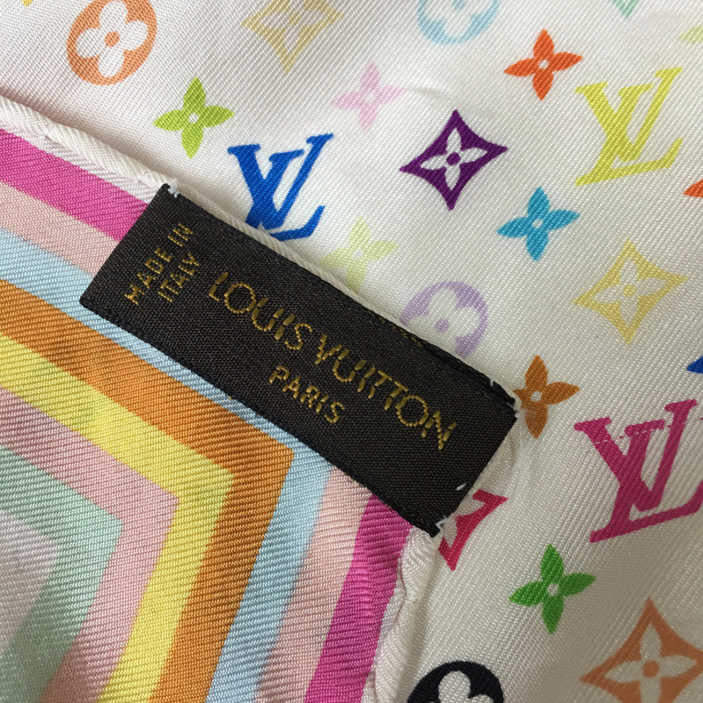 LOUIS VUITTON Multi Monogram Silk Scarf