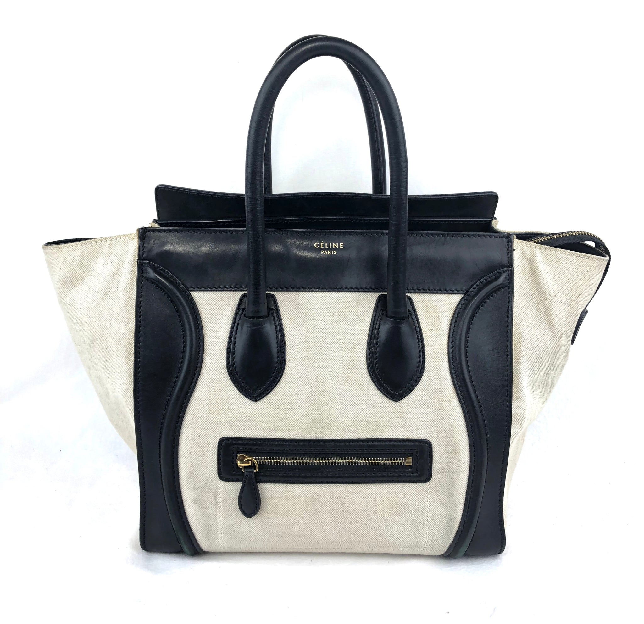 CELINE Luggage Tote Bag