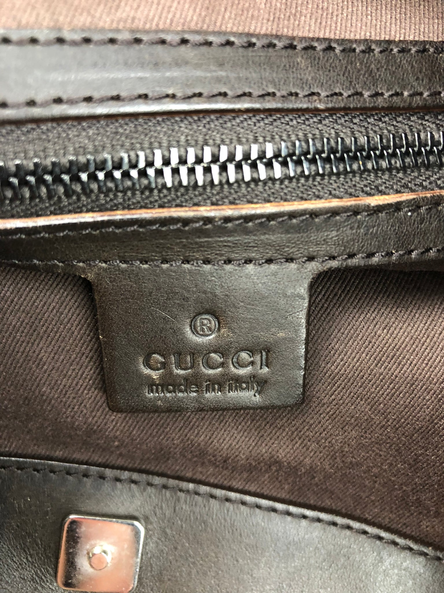 GUCCI Supreme Hobo Bag