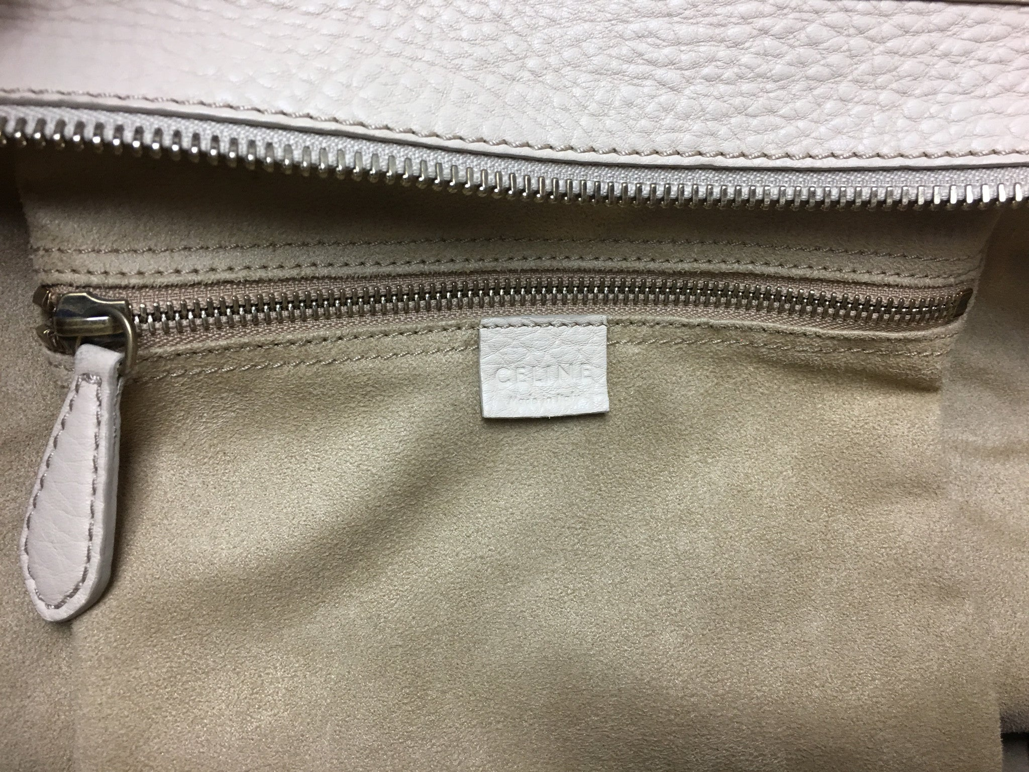 CELINE Mini Luggage Tote Bag