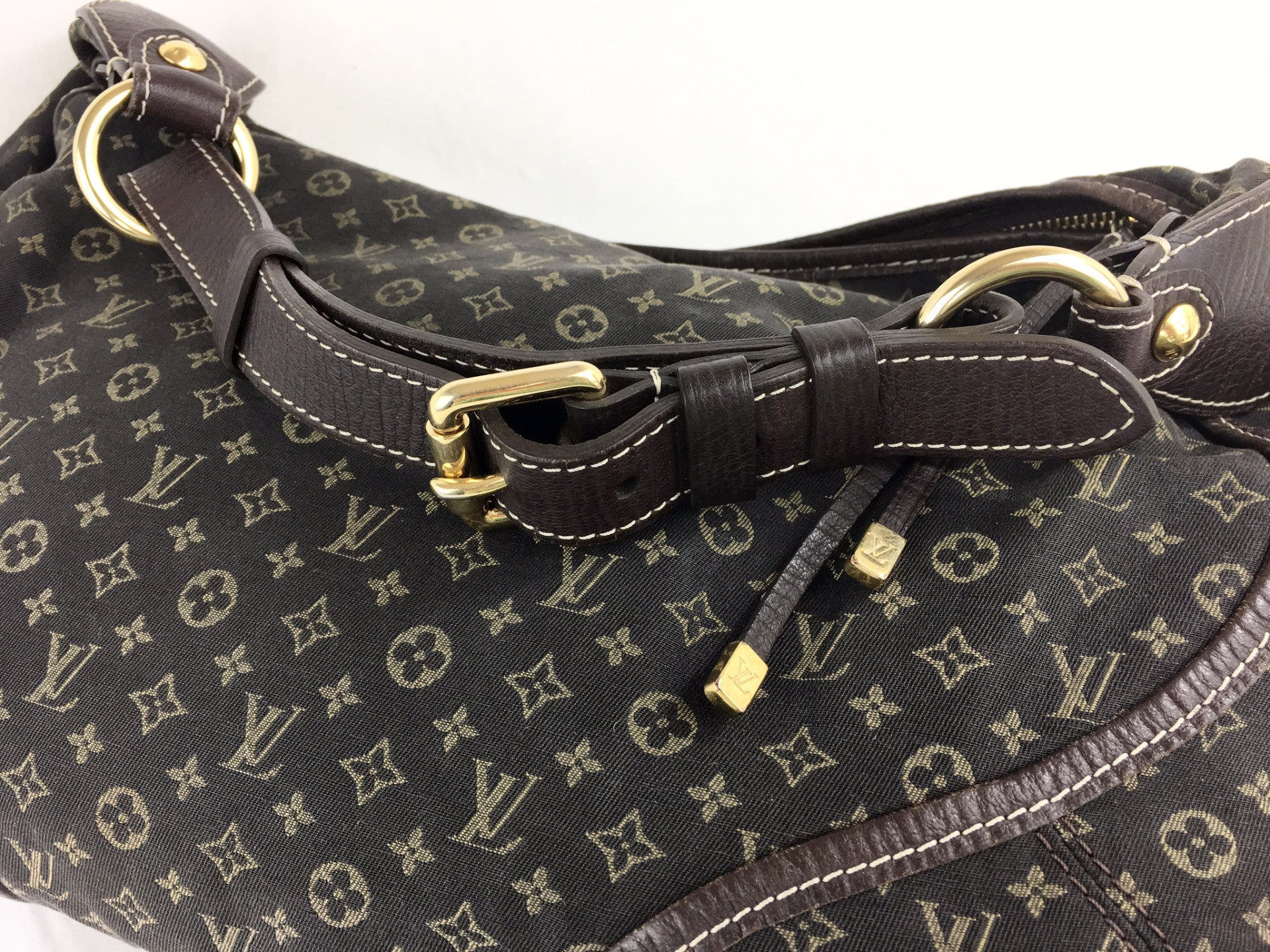 LOUIS VUITTON Monogram Canvas Hobo Bag