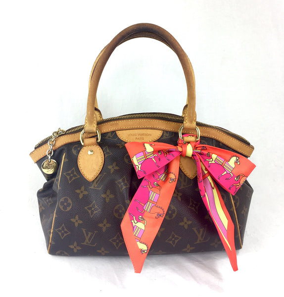 LOUIS VUITTON Monogram Tivoli PM + FREE Twilly Scarf