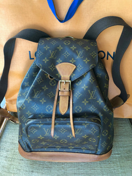 LOUIS VUITTON Montsouris GM Backpack in Monogram Canvas