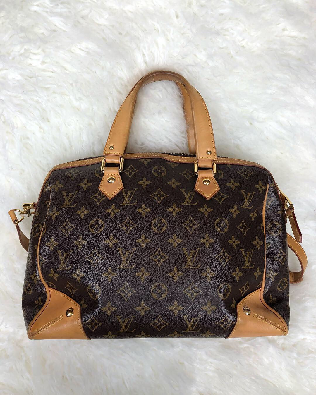 LOUIS VUITTON Retiro PM Monogram Satchel Bag