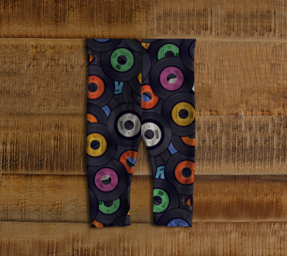 Vinyl Junkie Baby Leggings - Secret Lives...