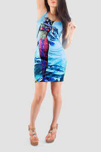 Be A Mermaid Bodycon Dress - Secret Lives...