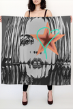 Lana Del Rey Large Square Scarf - Secret Lives...